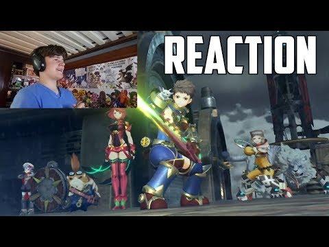 Xenoblade Chronicles 2 E3 2017 Reaction!