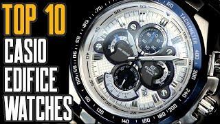 Top 10 Best Casio Edifice Watches For Men to Buy [2019]