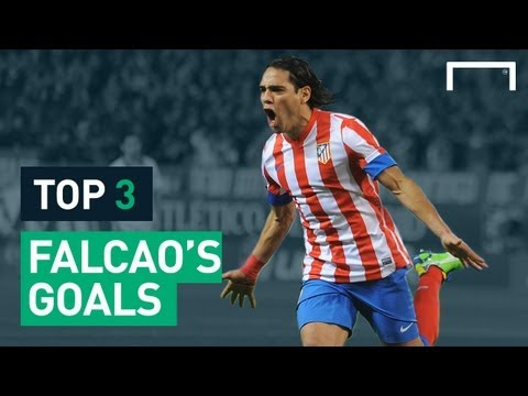 Falcao's top three goals - Europa league