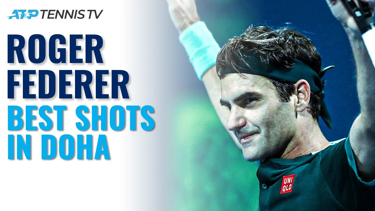 Roger Federer: Best Shots in Tennis Comeback! | Doha 2021 Highlights