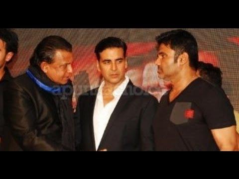 Download Akshay Kumar: I'm scared of Mithun Chakraborty! Enemmy film music launch   Suneil Shetty present