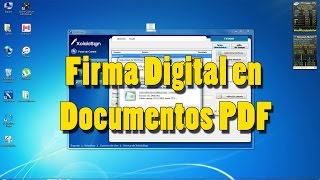 Lexnet. Firma Digital Documentos PDF