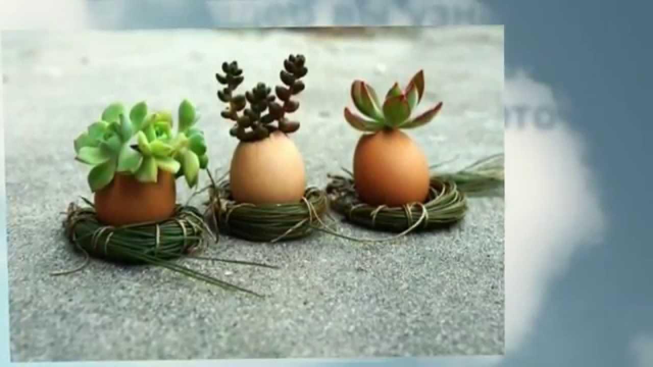 для необычные руками горшки растений своими