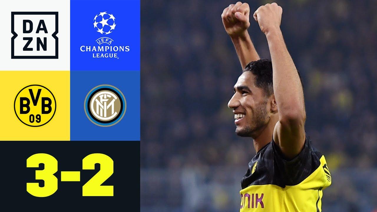 BVB dreht 0:2! Hakimi trifft doppelt: Dortmund - Inter 3:2 | UEFA Champions League | DAZN Highlights