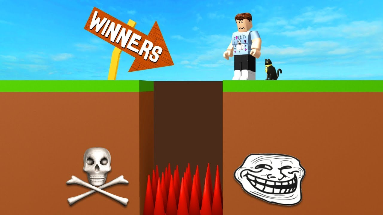 A Roblox Game That Trolls You Youtube