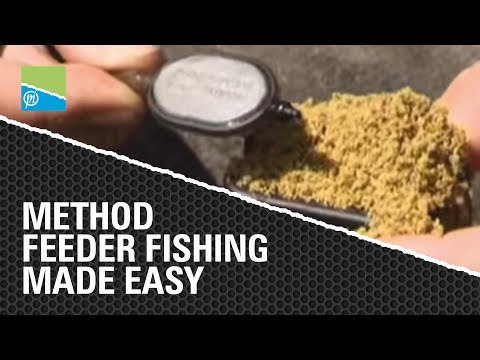 How to use Method Feeders - Match Fishing Made Easy with Des Shipp
