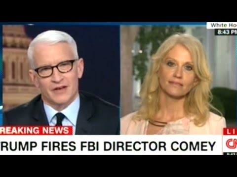 KELLYANNE CONWAY vs ANDERSON COOPER Episode: FBI Dir James Comey YOU