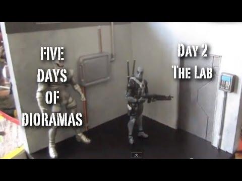 Custom Laboratory Action Figure Diorama (5 Days of Dios Day 2)
