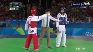 أول ميدالية للأردن في دورة ألعاب ريو