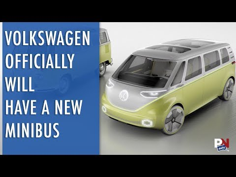 VW's Official New Microbus In Production