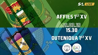 Affies 1st XV vs Outeniqua 1st XV - Noord Suid Rugby Toernooi