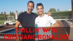 Chillin' with Cristiano Ronaldo   Rio Vlogs