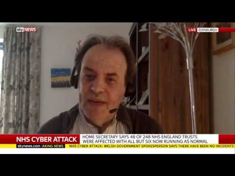 Sky News Interview (13 May 2017) on Ransomware