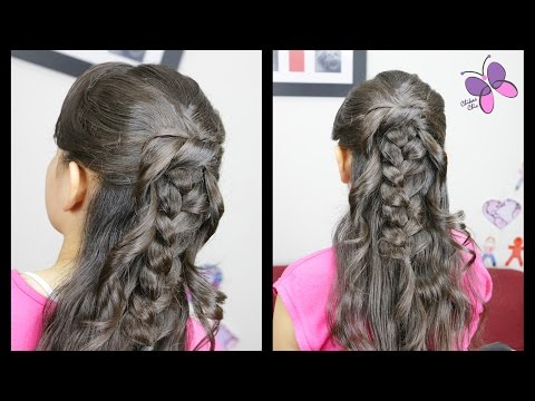 Braid and Knot | Quick and Easy hairstyles | Braided Hairstyles | Chikas Chic