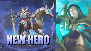 LEOMORD HELL KNIGHT MOBILE LEGENDS NEW HERO