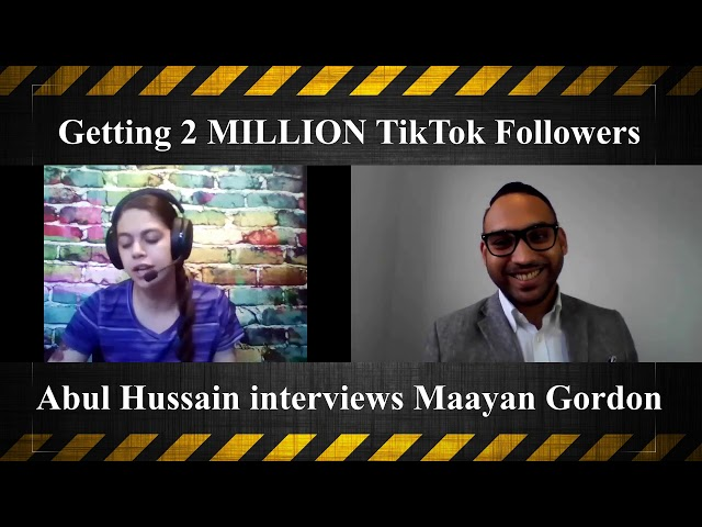 How Maayan Got 2 Million TikTok Followers - FREE!