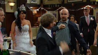 Emmerdale - Wedding Punch Up