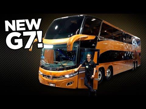 😎Marcopolo New G7 Paradiso 1800 DD: Veja de perto o ônibus mais top do Brasil (de cara nova)