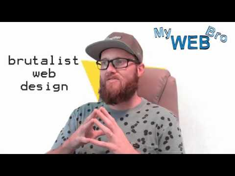 Brutalist Web Design Is A Trend That Is Coming To America