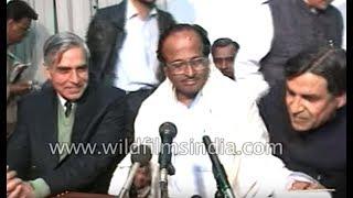 Janardan Poojari announces the expulsion of Arjun Singh from primary membership of Congress party