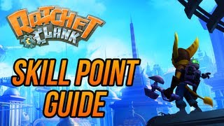 Ratchet and Clank (HD Collection) - Skill Point Guide!