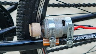 How to Make Electric Bike using 775 motor