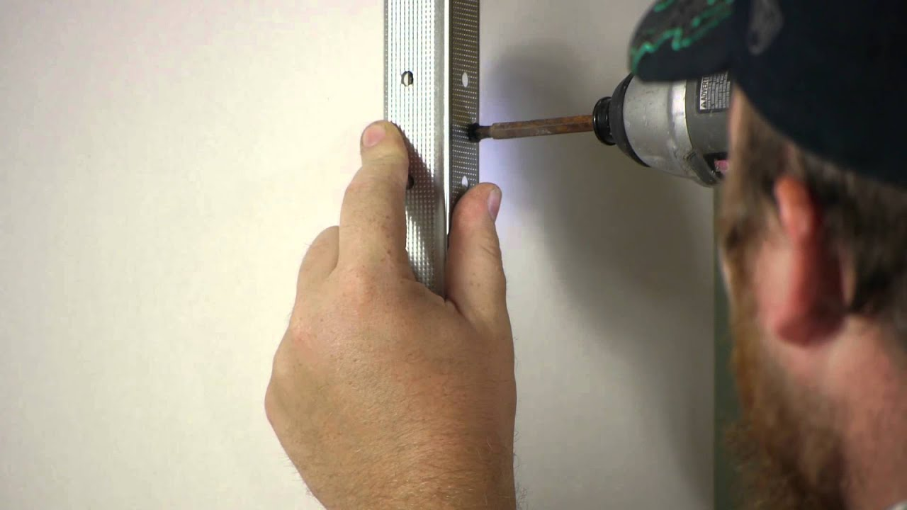 How To Install Drywall Outside Corners Wall Repair