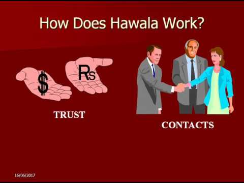 Hawala Alternative Remittance system