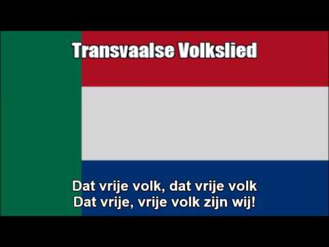 National Anthem Of The Transvaal (Transvaalse Volkslied) - Nightcore Style With Lyrics