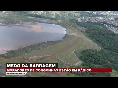 MG: Cidade de Congonhas é ameaçada por barragem