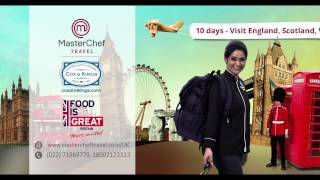 Masterchef Travels, Cox & Kings travels to London with MasterChef Pankaj Bhadouria - 10sec