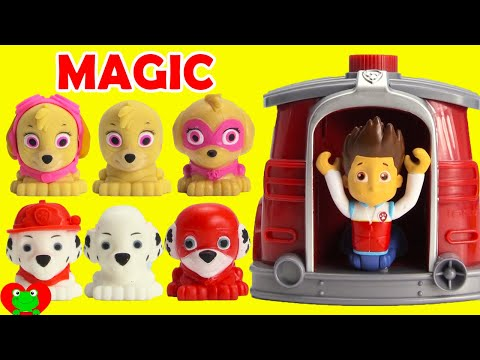 Paw Patrol Super Pups Saves Ryder Using Marshall's Magical Pup House LOL Doll Surprises