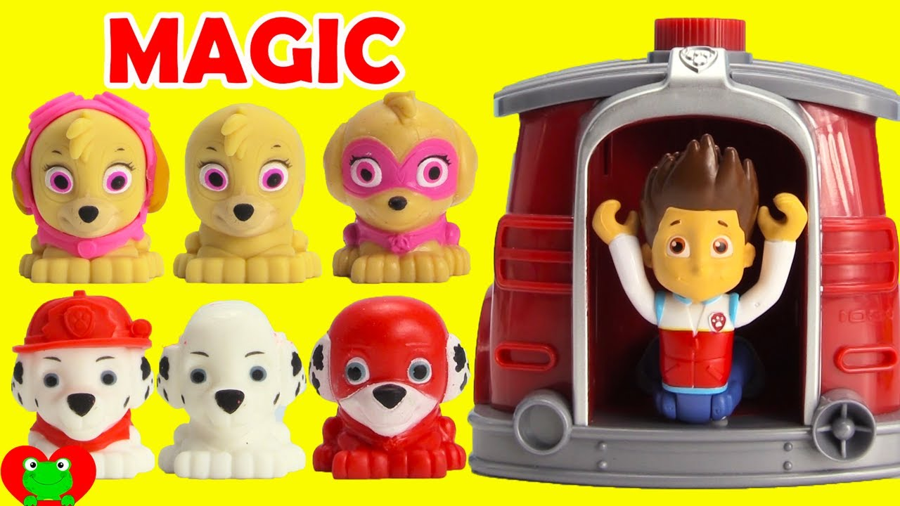 Paw Patrol Super Pups Saves Ryder Using Marshall's Magical Pup House LOL  Doll Surprises - YouTube