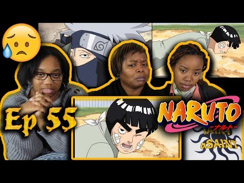 ROCK LEE🙏😰 Naruto Episode 55 Reaction - A Feeling Of Yearning, A Flower Full Of Hope