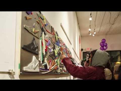 Custom Nikes Installation