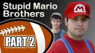 Stupid Mario Brothers Football - Part 2 of 4