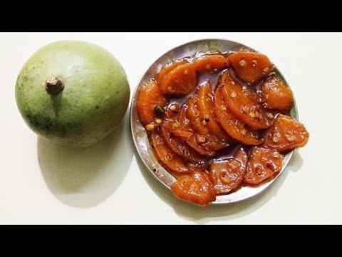 Yummy Bel Murabba recipe   Bel ka murabba by Yummy Village Foods