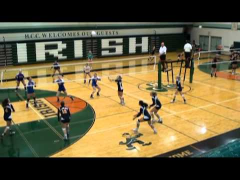 Abby White: Gobles High School Volleyball