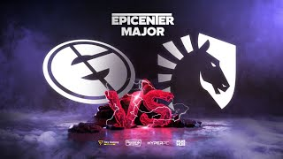 Team Liquid vs Evil Geniuses, EPICENTER Major, bo3, game 1 [Jam & NS]