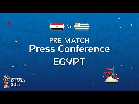 FIFA World Cup™ 2018: Egypt - Uruguay: Egypt Pre-Match Press Conference