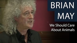 Why Should We Care About Animals? | Brian May | Oxford Union