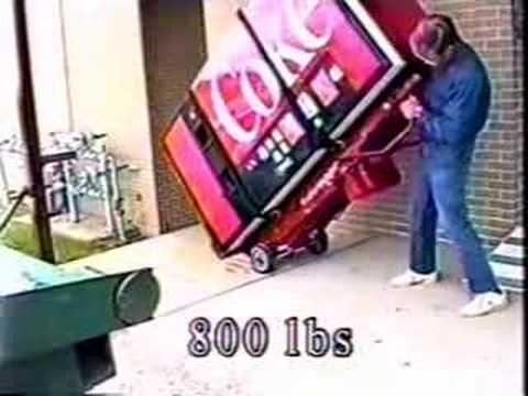 vending machine moving equipment