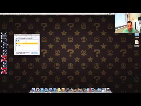 CTRL ALT DEL (Force Quit) on Mac By MacMostlyUK