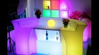 Polydeco Bar Sl-lbc9101,led Bar Counter,illuminated Bar Corner Section