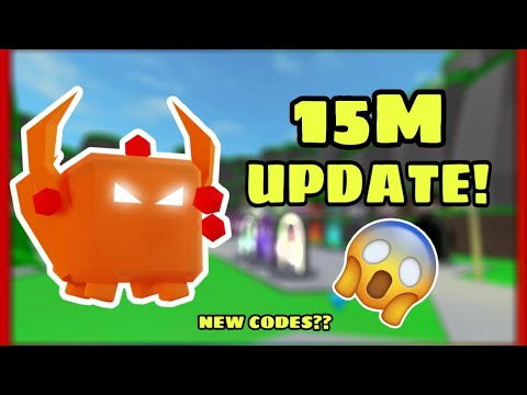 TAPPING LEGENDS 15M UPDATE! ALL INFO + CODES - YouTube
