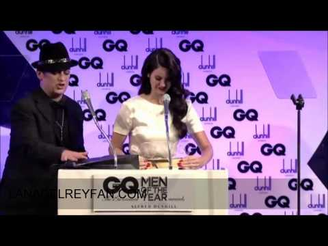 Lana Del Rey - Speech For GQ's Woman Of The Year Award 04092012