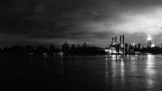 Superstorm Hurricane Sandy 2012: A Tale of Two NYC's - Going Inside Powerless Lower Manhattan