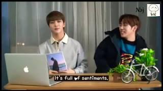 "[Eng]HONG JOOCHAN ""a song for me"" MV commentary by Joochan & Jibeom"