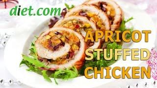Apricot-Stuffed Chicken