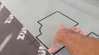 Usinage de dibond contrecollé de vinyle sur Zund G3 par Grafitorniks